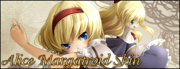 Alice Margatroid Skin